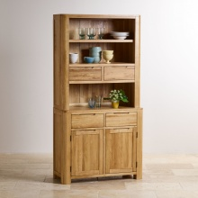 Tủ bếp nhỏ Emley gỗ sồi 1m - Cozino