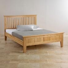 Giường đôi Camber 100% gỗ sồi 1m8 - Cozino