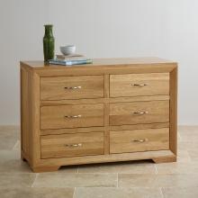 Tủ ngăn kéo ngang Camber 6 hộc gỗ sồi - Cozino