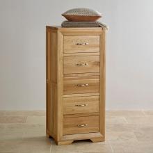 Tủ ngăn kéo đứng Camber 5 hộc gỗ sồi - Cozino