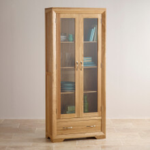 Tủ trưng bày Camber gỗ sồi 1m - Cozino