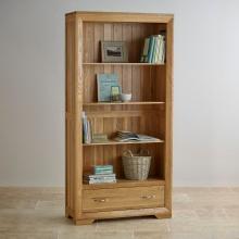 Tủ kệ sách cao Camber gỗ sồi - Cozino