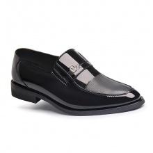 Giày tây nam Zapas dáng xỏ GT004 (đen)