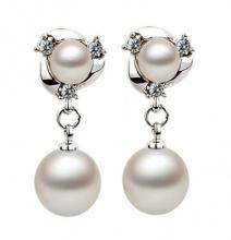 Bông tai basic pearl - Tatiana - BB2820 (Bạc)