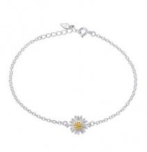 Lắc chân hoa daisy - Tatiana - LB2021 (Bạc)