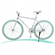 Xe đạp thể thao Fixed Gear ( Màu trắng ) - 9199882 ,  ,  , 1699000 , Xe-dap-the-thao-Fixed-Gear-Mau-trang--1699000 , shop.vnexpress.net , Xe đạp thể thao Fixed Gear ( Màu trắng )