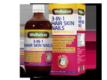 Thực phẩm bảo vệ sức khỏe làm đẹp tóc da móng tay- Wellwisse Hair Skin Nails -500ml