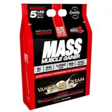 Sữa tăng cân Elite Labs Mass Muscle Gainer Vanilla 2.3kg