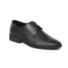 Giày tây công sở nam Zapas da bò màu đen - GF007