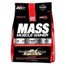 Sữa tăng cân Elite Labs Mass Muscle Gainer Vaniila 9.09kg