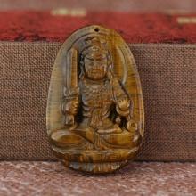 Dây chuyền Phật Bất Động Minh Vương đá mắt hổ cho tuổi Dậu