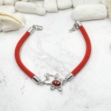 Vòng tay may mắn red puppy - Tatiana - VB2305 (bạc)
