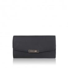 Bóp cầm tay thời trang Verchini màu đen 010291