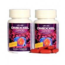Combo 2 lọ viên uống hỗ trợ tim mạch Omexxel Cardio (60 viên)  - Xuất xứ Mỹ