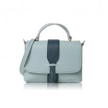 Túi xách thời trang Verchini màu xanh ngọc + xanh cổ vịt 008649