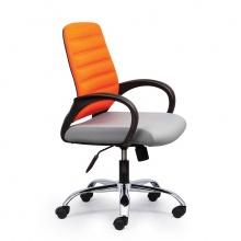 Ghế văn phòng CZN1018 chân thép cao cấp màu cam   - COZINO