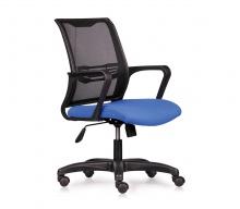 Ghế lưới văn phòng CZN1016 chân nhựa màu xanh - COZINO