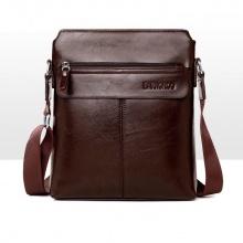 Bộ túi ví đeo chéo Bardenroo cao cấp - Nâu đậm