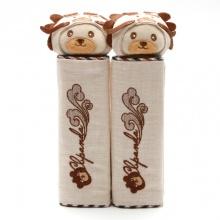 Trang trí bọc dây an toàn Focus CB Panda K-X01D màu kem