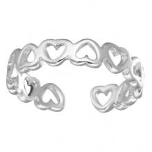 Nhẫn mạ bạc heart by heart - Tatiana - NB2430 (Bạc)