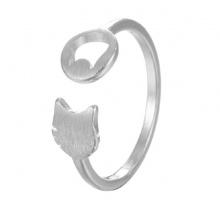Nhẫn mạ bạc cat lani - Tatiana - NB2432 (Bạc)