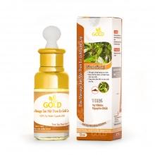 Dầu massage tan mỡ thon eo Gold cao cấp 50 ml