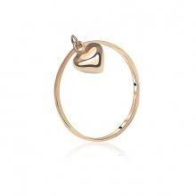 Nhẫn vàng 18k Heartain Love