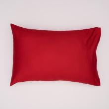 Vỏ gối màu đỏ 45x65cm Ninos
