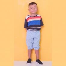 Áo thun bé trai Ugether sọc UKID207