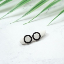 Bông tai inox Round - Tatiana - BI3454