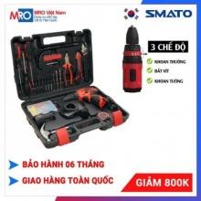 Bộ dụng máy khoan PIN Smato 94 chi tiết