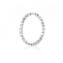 Nhẫn bạc Simple Style 1