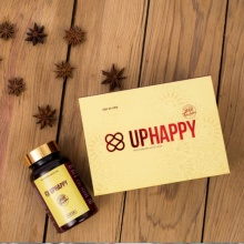 Uphappy - thực phẩm chức năng cao cấp hỗ trợ co hồi tử cung  combo 02 hộp