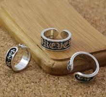 Nhẫn nam handmade bạc Thái 925 Hadosa - TSR269