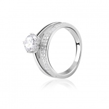 Nhẫn bạc Bright Light
