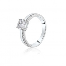 Nhẫn bạc Roxy