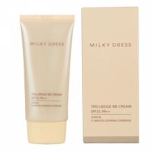 Kem lót trang điểm 3 tác dụng dành cho da dầu, da hỗn hợp SPF35 PA++ Milky Dress 50ml