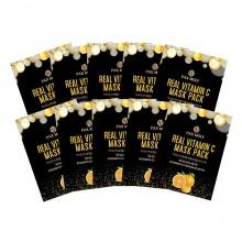 Set 10 gói mặt nạ Gold & Vita-C Pax Moly  25mlx10gói