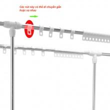 Bộ 30 nút chống dồn đồ cho giàn phơi Prota ống đường kính 22
