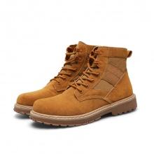 Giày boot cổ cao thời trang nam LN30Br