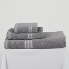 Combo 3 khăn cá nhân màu xám Khani