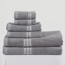 Combo 6 khăn cho gia đình màu xám Khani