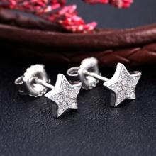 Bông tai bạc Hesta Star