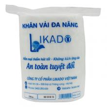 Khăn vải khô đa năng Likado 300gr - combo mua 4 tặng 1 chỉ với  200.000 đồng