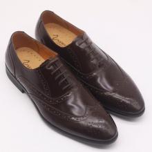 Giày nam trẻ trung màu nâu mận - KAZIN