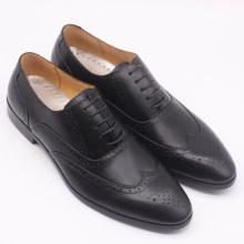 Giày công sở nam họa tiết đen - KAZIN