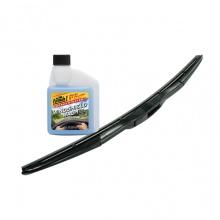 Combo gạt mưa Viair 331 (22 inch/550 mm)- nước châm kiếng đậm đặc Formula 1