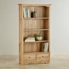 Tủ kệ sách cao Cawood gỗ sồi - Cozino