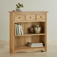 Tủ kệ sách thấp Cawood gỗ sồi - Cozino