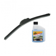 Combo gạt mưa không xương Viair 323 (20 inch/500 mm)-nước châm kiếng đậm đặc Formula 1